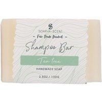 Fair Trade Solid Shampoo Bar - Tea Tree - 100g.