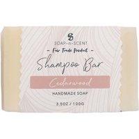 Fair Trade Solid Shampoo Bar - Cedarwood - 100g.