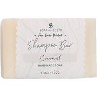 Fair Trade Solid Shampoo Bar - Coconut - 100g.