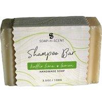 Fair Trade Solid Shampoo Bar - Kaffir Lime & Lemon - 100g.