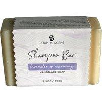 Fair Trade Solid Shampoo Bar - Lavender & Rosemary - 100g.