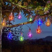 Eureka! Neon-esque Solar Lightbulbs - Set of 10