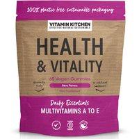 Vitamin Kitchen Health & Vitality Vegan Gummies - 60.