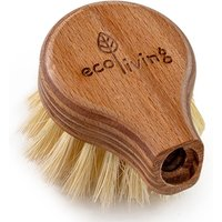 ecoLiving Long Handled Wooden Dish Brush Replacement Head
