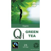QI Organic Green Tea x 25 bags