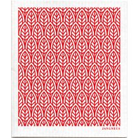 Jangneus Design Cloths - Red - Pack of 4.