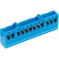 OBI Nullleiter-Klemme 12-polig Blau