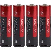 OBI Alkaline AA Batterie 4er-Set