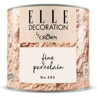 ELLE DECORATION by Crown Wandfarbe Fine Porcelain No. 506 matt 125ml