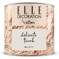 ELLE DECORATION by Crown Wandfarbe Delicate Touch No. 511 matt 125ml