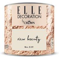 ELLE DECORATION by Crown Wandfarbe Raw Beauty No. 539 matt 125ml