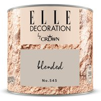ELLE DECORATION by Crown Wandfarbe Blended No. 545 matt 125ml