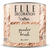 ELLE DECORATION by Crown Wandfarbe Powder Brush No. 557 matt 125ml