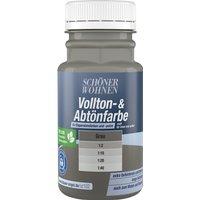 Schöner Wohnen Vollton- und Abtönfarbe Grau Matt 125 ml