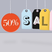 Hanging Sale Signs