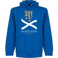 Scotland the Brave Hoodie - Royal - XXL