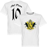Del Piero Turin Crest T-shirt - White - L