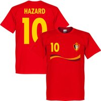 Belgium Hazard T-shirt - Red - XXL