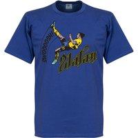 Zlatan Ibrahimovic Bicycle Kick T-shirt - Royal - L