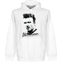 Beckham Silhouette Hoodie - White - M