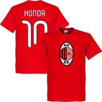 Milan Honda T-shirt - Red - XXL