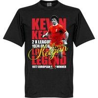Kevin Keegan Legend T-shirt - Black - XL
