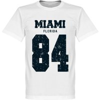 Miami '84 T-shirt - White - XL