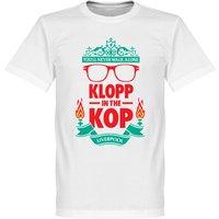 Klopp on the Kop T-shirt - White - XL