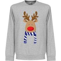 Reindeer Blue / White Supporter Kids Sweatshirt - 7-8YRS
