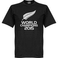 New Zealand Rugby World Champions T-Shirt - Black - XXXL
