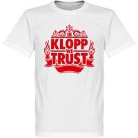 In Klopp we Trust T-Shirt - White - XXXXL