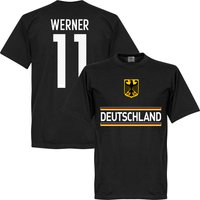 Germany Team T-shirt + Werner 11 - Black - M