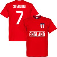 England Sterling 7 Team T-Shirt - Red - S