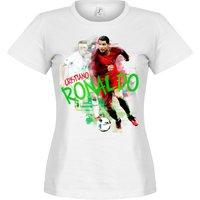 Ronaldo Motion Womens T-shirt - White - S