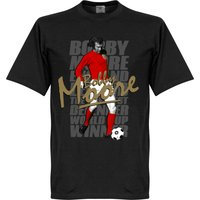 Bobby Moore Legend T-Shirt - Black - XL