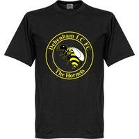 The Hornets Large Crest T-shirt - Black - XS