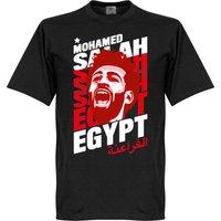 Salah Egypt Portrait T-Shirt - Black - XS
