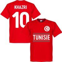 Tunisia Khazri 10 Team T-Shirt - Red - S