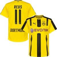 Borussia Dortmund Home Reus No.11 Shirt 2016 2017 (Official Printing) - XXL