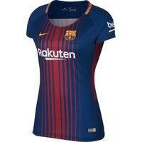 Barcelona Home Womens Shirt + Sleeve Sponsor 2017 2018 - S