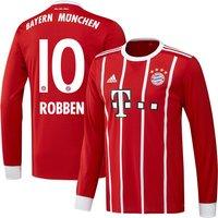 Bayern Munich Home Robben No10 L/S Shirt 2017 2018 (Official Player Printing) - 62