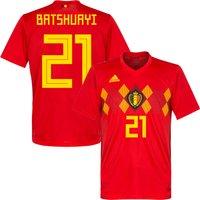 Belgium Home Batshuayi 21 Shirt 2018 2019 (Official Printing) - 62