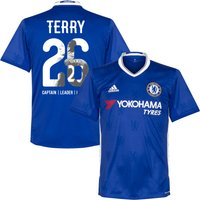 Chelsea Home Terry No26 Shirt 2016 2017 (Gallery Style Printing) - 42