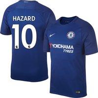 Chelsea Home Stadium Hazard No10 Shirt 2017 2018 (Official Premier League Printing) - XXL