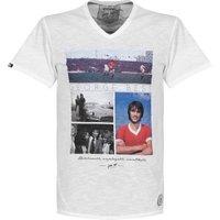 Copa Unbelievable V-Neck T-Shirt - White - XL