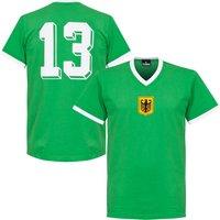 1970 West Germany Away Retro Shirt + No. 13 - S