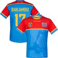 2017 DR Congo Home Bakambu 17 Shirt (Fan Style Printing) - XL