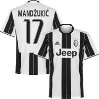 Juventus Home Mandzukic 17 Shirt 2016 2017 (Fan Style Printing) - 54