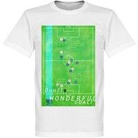 Pennarello Michael Owen 1998 Classic Goal T-shirt - White - XXXXL