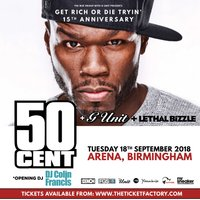 50 CENT (Show Lounge) Ticket Only